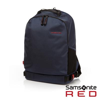 Samsonite RED CLOVEL 造型潮流中性休閒筆電後背包-15.6吋(海軍藍)