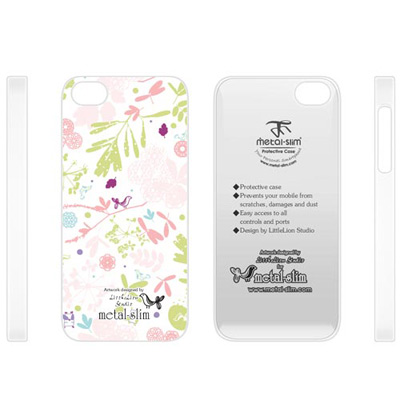 Metal-Slim Apple iPhone5/5S/SE 彩繪-Romant...
