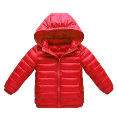 輕量極保暖90%羽絨外套 紅 k60322 魔法Baby