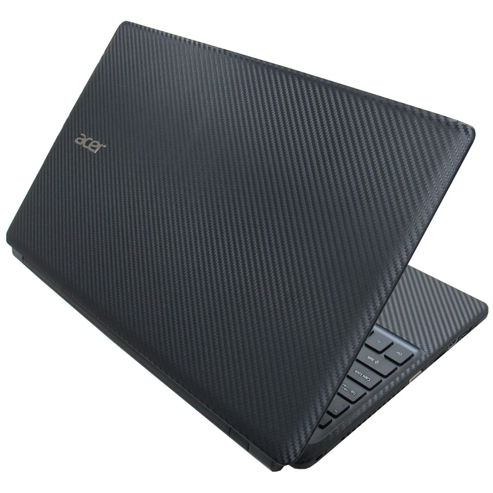 ACER Aspire E1-572 E1-572G系列專用 Carbon黑色立體紋機貼