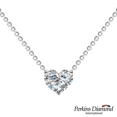 PERKINS 伯金仕 - GIA 0.50克拉 Heart Cut 心形鑽石項鍊