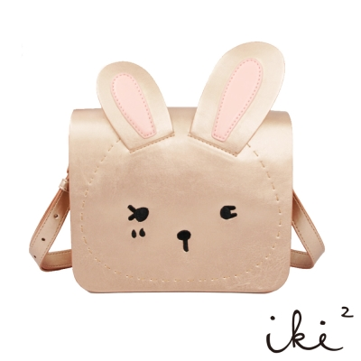 iki2童包-咕妮兔斜背包-金