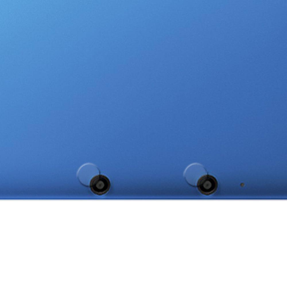 3DS LL XL攝影機鏡頭專用光學顯影保護膜四入-贈拭鏡布