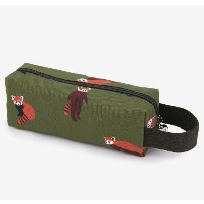 Dailylike 帆布手提筆袋 - 02 浣熊
