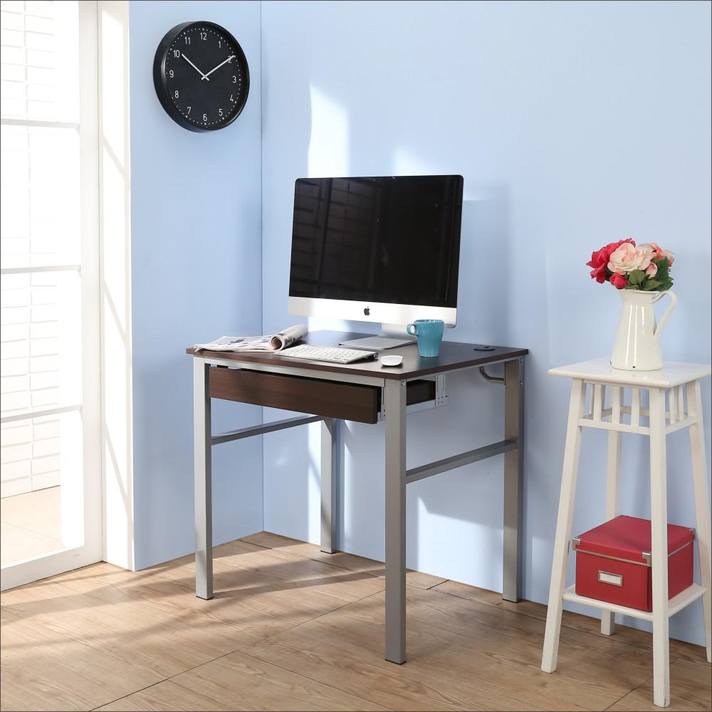 BuyJM低甲醛防潑水80公分單抽屜穩重型工作桌-DIY
