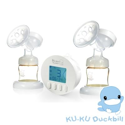KU.KU酷咕鴨-智能韻感電動雙邊吸乳器 (KU9023)
