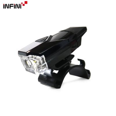 【INFINI】MINI LAVA I-261W 白光LED警示燈4模式前燈/台灣製-黑色