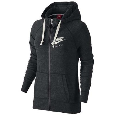 Nike-外套-Gym-Vntg-Hood-女-黑