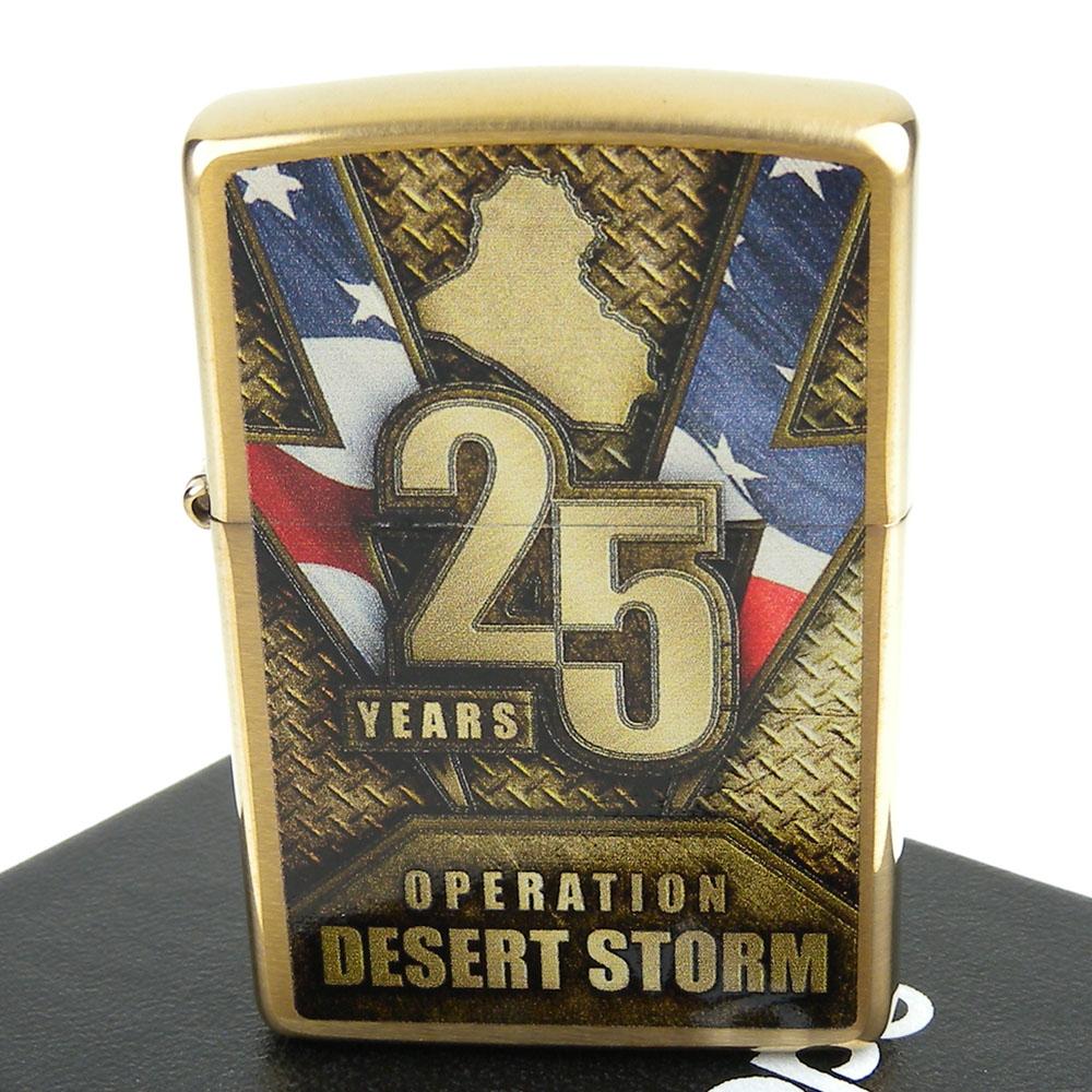 【ZIPPO】美系~Operation Desert Storm-沙漠風暴25週年紀念