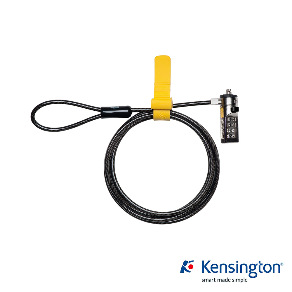 Kensington K64673US 鋼纜密碼電腦鎖