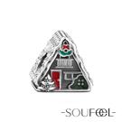 SOUFEEL索菲爾 925純銀珠飾 聖誕屋 串珠
