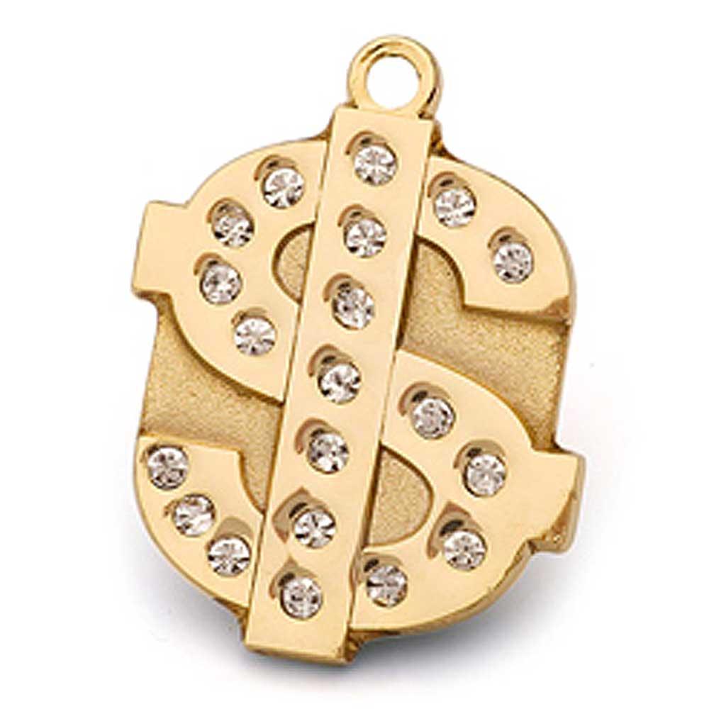 澳洲品牌Hamish McBeth - BlingBling水晶吊牌、金色錢幣