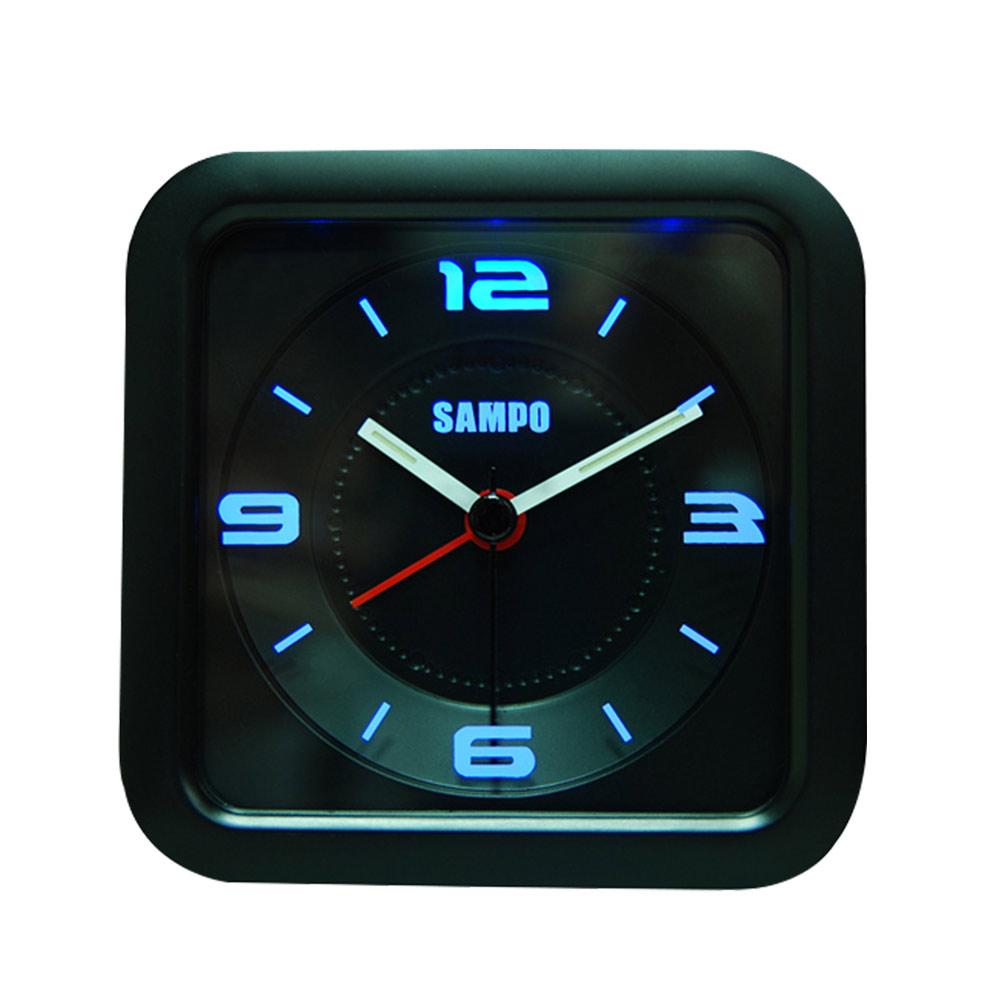聲寶SAMPO LED音樂鬧鐘黑色PY-Z1206ML