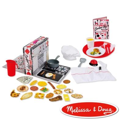 美國瑪莉莎 Melissa & Doug 餐廳遊戲組 - 上菜囉!