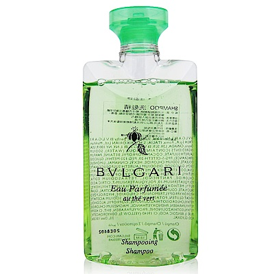 BVLGARI寶格麗 綠茶洗髮精75ml