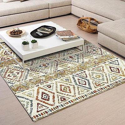 范登伯格 - 谷娜 進口仿羊毛地毯 - 菱彩 (133 x 190cm)