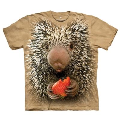 摩達客 美國進口The Mountain 豪豬寶寶  純棉環保短袖T恤