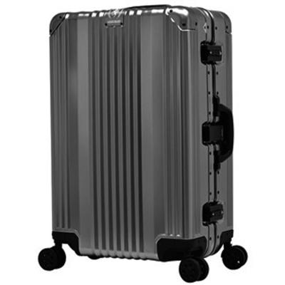 日本 LEGEND WALKER 1510-63-25吋全鋁鎂合金行李箱 子彈灰