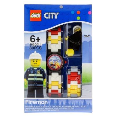 【 樂高積木 LEGO 】兒童手錶 - 城市消防員