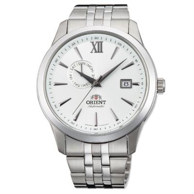 ORIENT 日本 東方錶 聖殿騎士 機械錶(FAL00003W)白/43mm