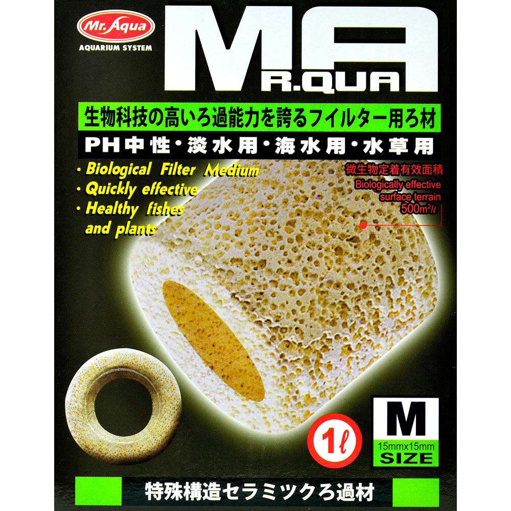 《Mr.Aqua》水族先生培菌利器生物科技陶瓷環 1L/M號 淡海水適用