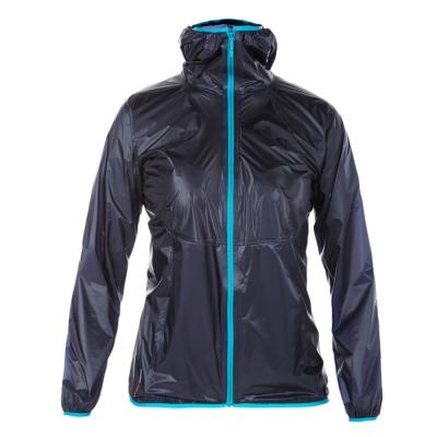 【Berghaus 貝豪斯】女款超輕薄HS防水透氣連帽外套S02F05-藍