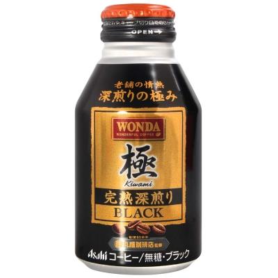 西日本 Canpack WONDA極咖啡-Black(285g)