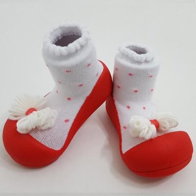 韓國Attipas 快樂學步鞋A17RR-紅點領結