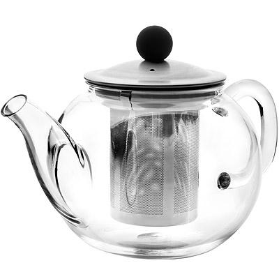 IBILI Kristall玻璃濾茶壺(圓600ml)