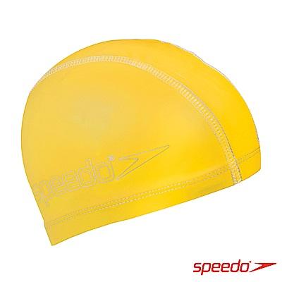 SPEEDO 兒童 合成泳帽 Pace 黃