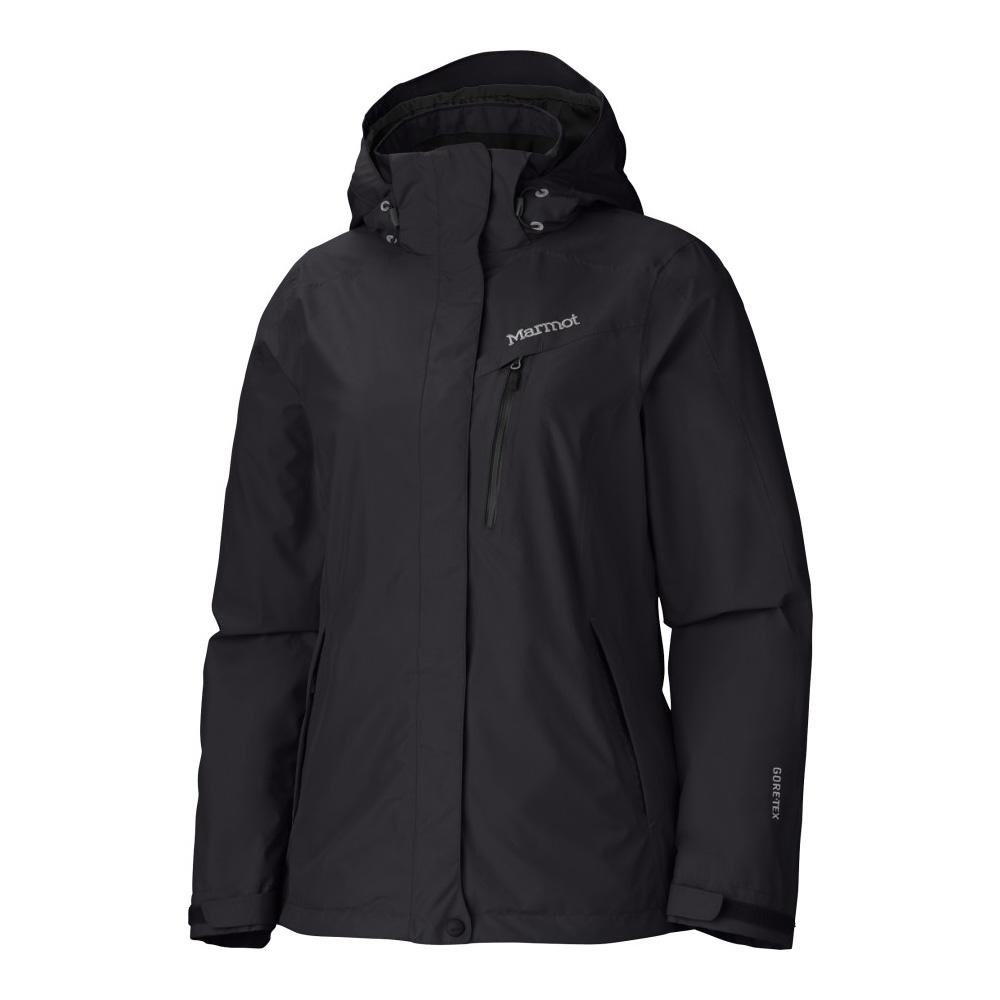 Marmot 35750 Palisades DN GTX 兩件式風雨衣 女 黑
