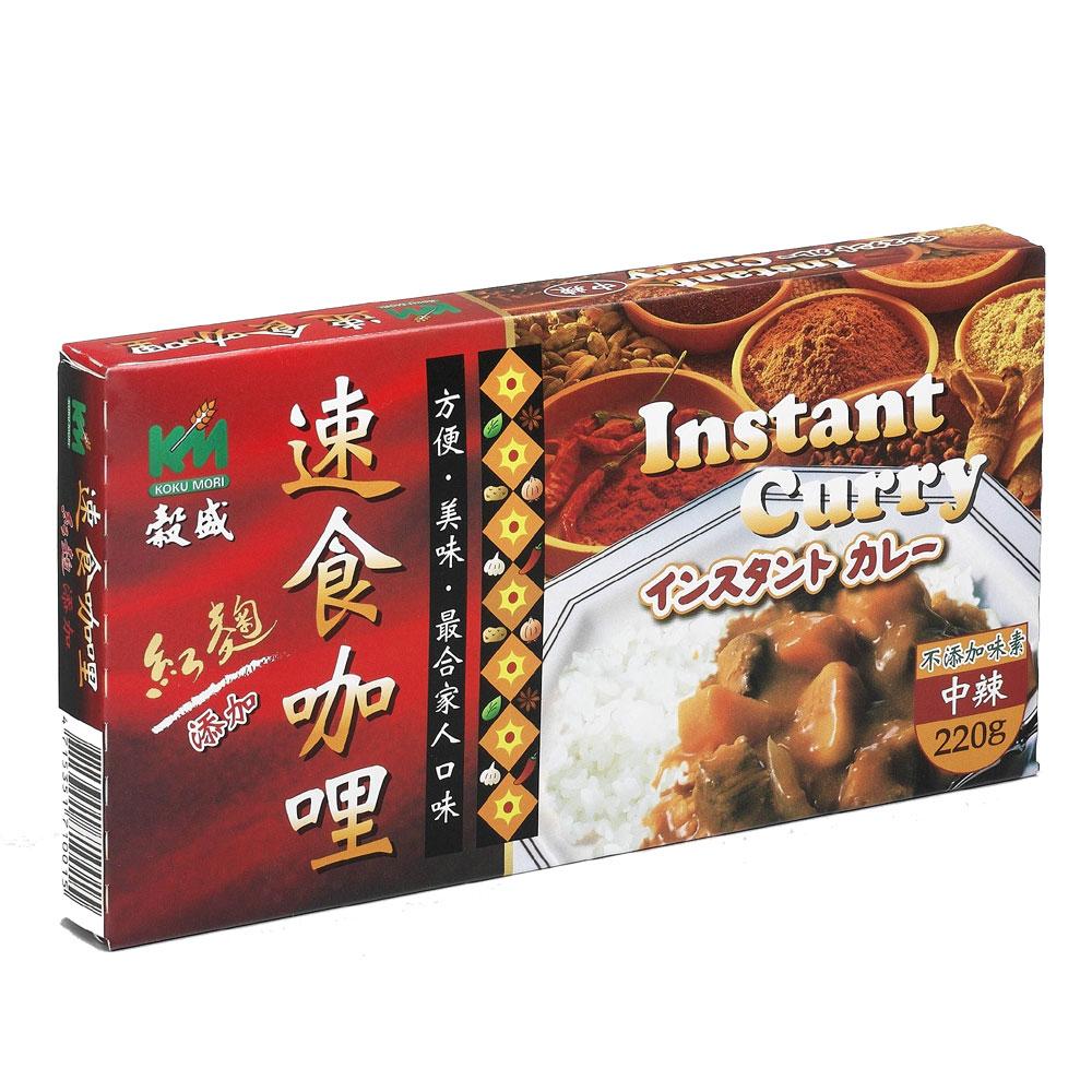 穀盛 速食咖哩中辣(220g)