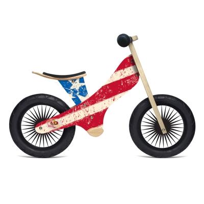 Kinderfeets 美國木製平衡滑步車(1Y-2Y)-英雄聯盟 (美國隊長)