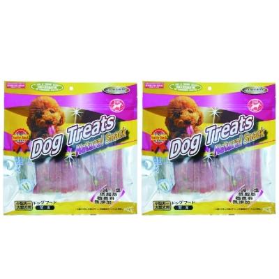 Dog Treats 香烤系列-綜合蔬菜雞肉超軟條 200g x 2包