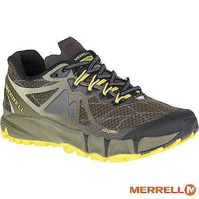 MERRELL AGILITYPEAKFLEX 野跑女鞋-黑黃(09636)