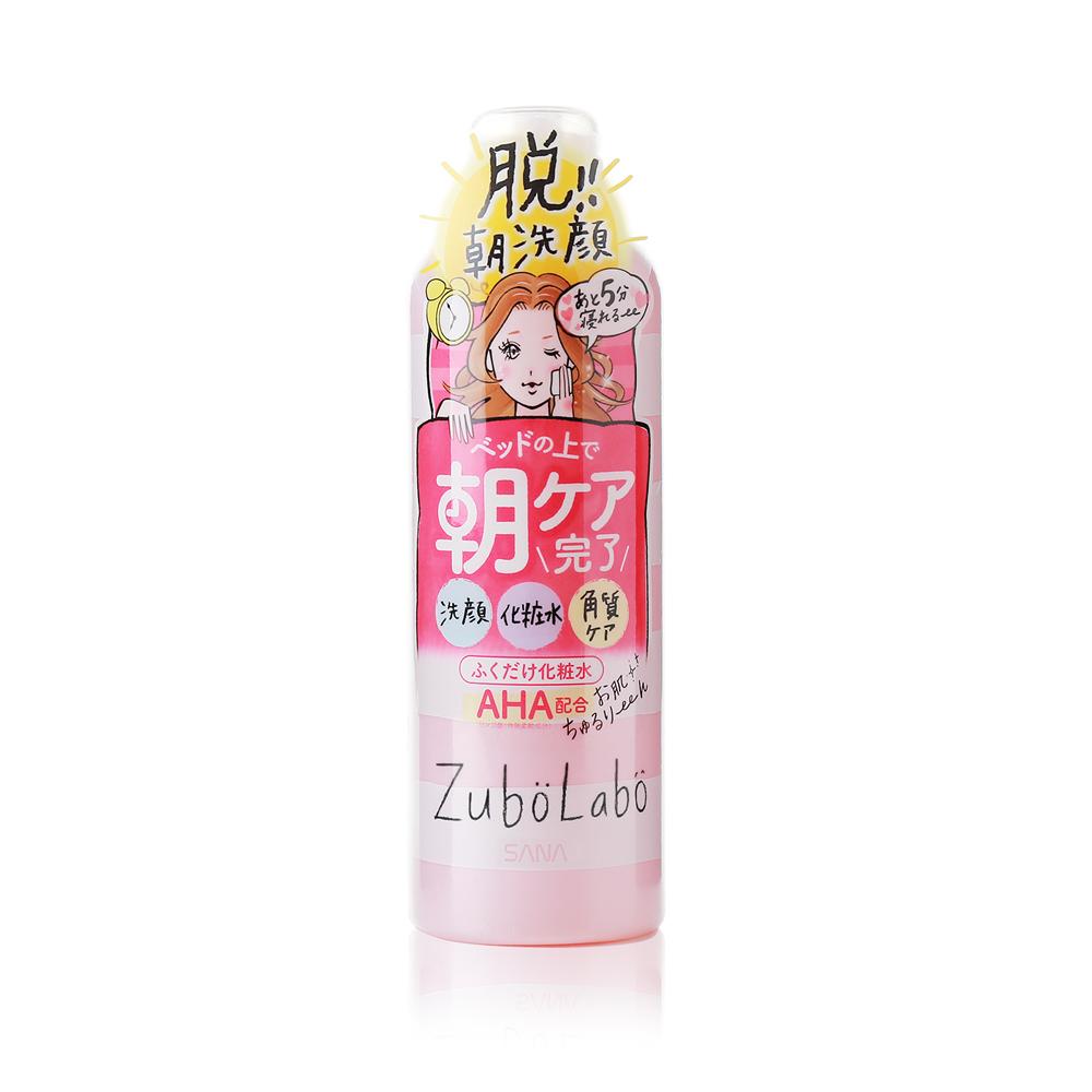 SANA 莎娜 ZUBOLABO晨用擦拭型淨膚化妝水 300ML