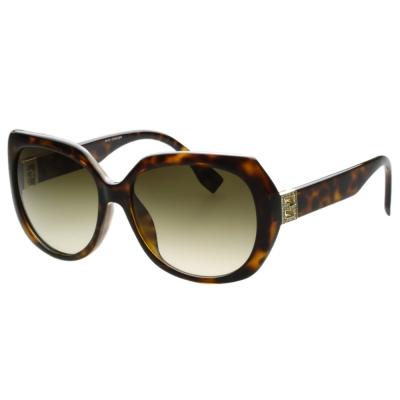FENDI 時尚太陽眼鏡 (琥珀色)FF0047FS