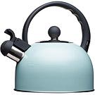 KitchenCraft 復古不鏽鋼笛音壺(藍1.4L)
