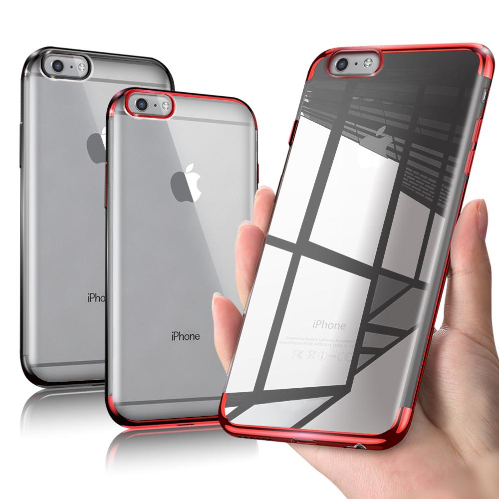 AISURE  iPhone 6S /iPhone 6 4.7吋 唯美優雅透視保護殼