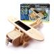 【ROBOTIME】木質立體拼圖《綠能航空系列-太陽能單翼螺旋機》 product thumbnail 1