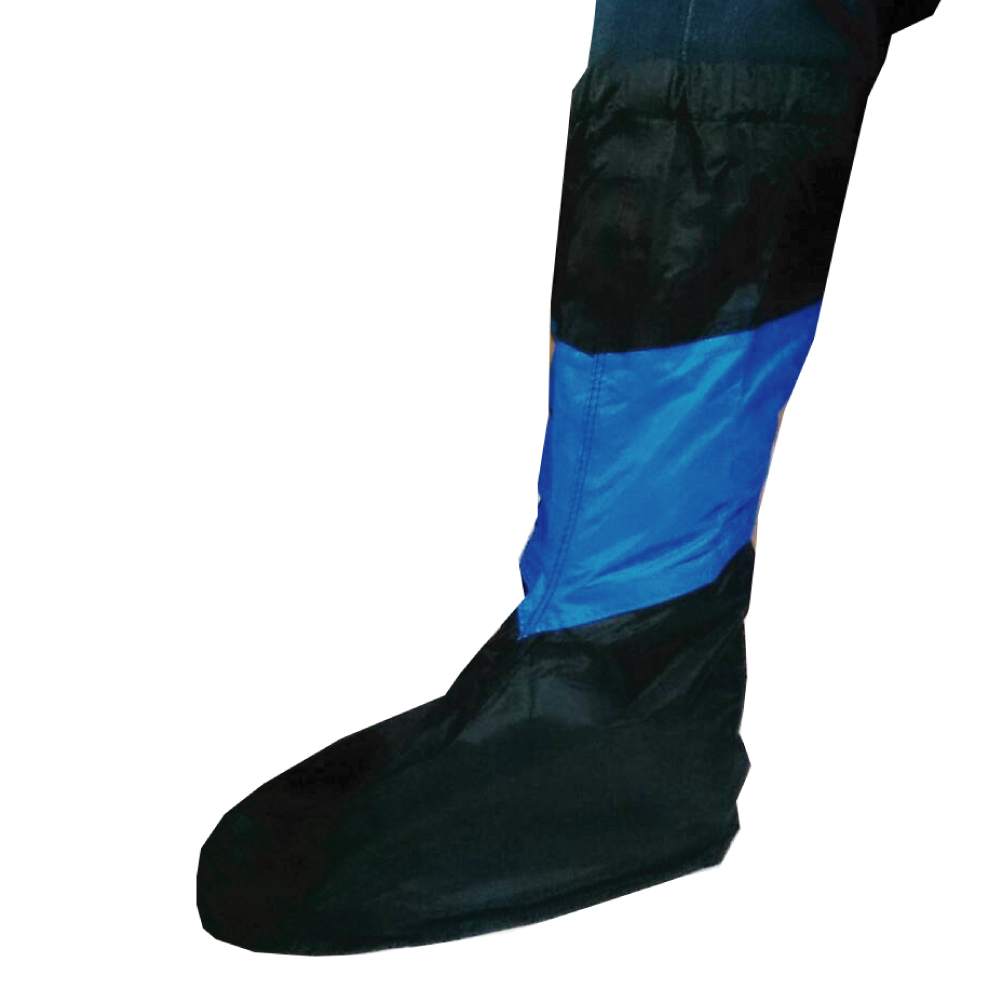 防水快速穿脫-配色簡便型鞋套R1 一雙 -快