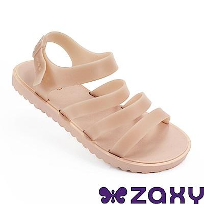 Zaxy 巴西 女 春日風采平底涼鞋-粉色
