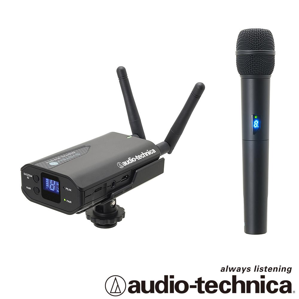audio-technica  攝相機用無線麥克風(手握)  ATW1702