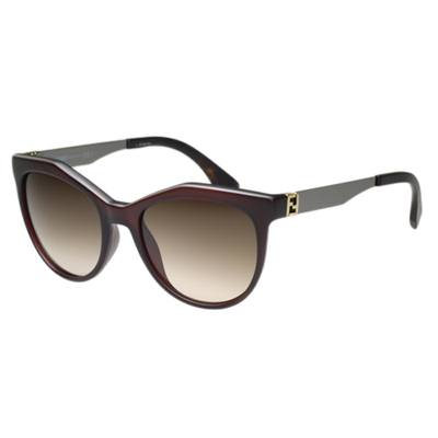 FENDI 時尚太陽眼鏡 (咖啡色)FF0049S