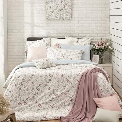 BBL黛西100%精梳棉.印花雙人兩用被四件式床包組