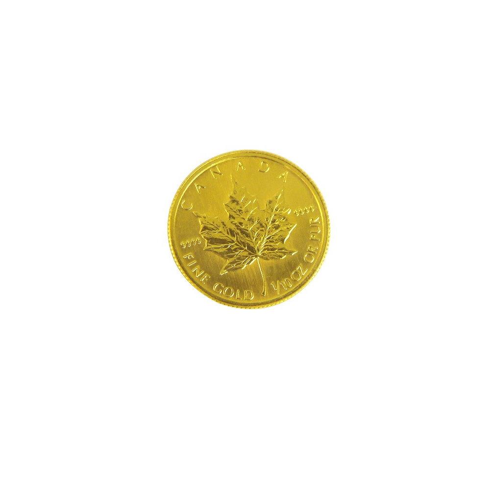 楓葉金幣-加拿大楓葉金幣 (1/10盎司)