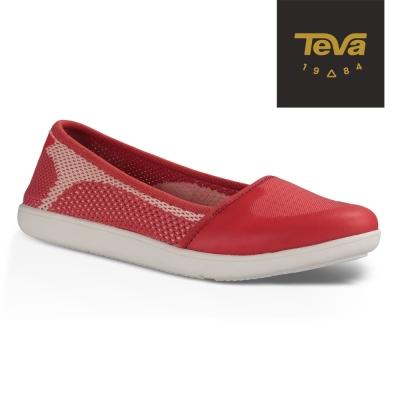 TEVA 美國 女 Hydro-Life Ballerina 輕量休閒鞋 (紅)