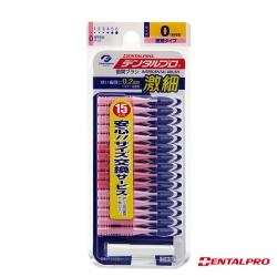 日本JACKS齒間刷 15入-0號(SSSS)
