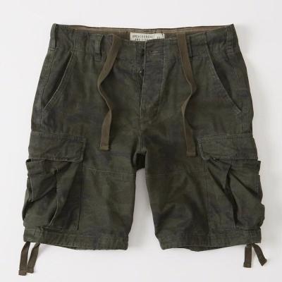 AF a&f Abercrombie & Fitch 短褲 綠色 007