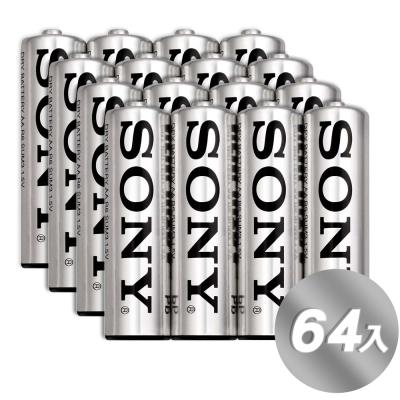 公司貨 SONY 3號AA高效能碳鋅電池(64入裝)2017新版本